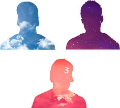 Chance the Rapper - 10 Day, Acid Rap, Coloring Book Silhouette