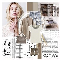 """""""# VII/3 Romwe"""" by lucky-1990 ❤ liked on Polyvore featuring moda, Tine K Home, TOMS e romwe"""
