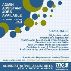 Legal assistant jobs okc