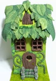 a polymer clay fairy house just incredible - Поиск в Google