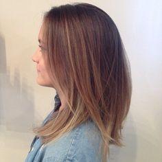 Kristy Gardner Paul Mitchell Focus Salon Sombre' painted highlights fall 2014