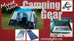 5 Must-Have Items for Camping With Your Kids