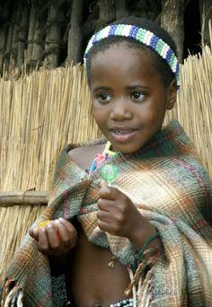 Zululand Girl, South Africa