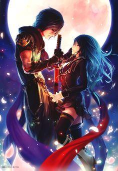 Anime Couples artbooks: true love's blade Animal Manga, Anime Manga, Animal Art, Katana Xbox360, - theanimegallery.com