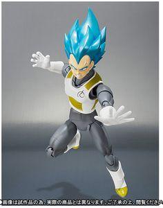 Dragon Ball Super S.H. Figuarts VEGETA Super Saiyan God SS Ed. Limitada