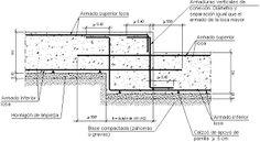 Resultado de imagen para losa cimentacion detalle