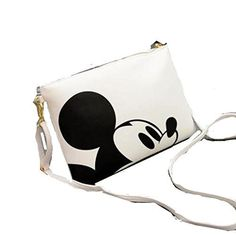 Mickey Mouse Clutch/ Shoulder Bag , Purse with Zipper -12x 8 inches