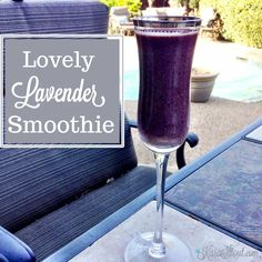 Lovely Lavender Smoothie #springsmoothie #healthybrides #healthywives
