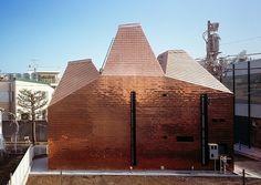 Maison de cuivre à Tokyo