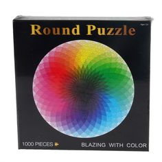 1000pcs Rainbow Round Photopuzzle // Price: $42.95 & FREE Shipping //  We accept PayPal and Credit Cards.    #cards #playingcards #magician #cardporn #magictrick #cardistry #ellusionist #cardmagic #playingcardart #boardgames #bgg #boardgame #boardgamegeek #tabletopgames #artofplay #cardtrick #kendama #boardgame #tabletopgaming #cardgame #cardgames #cardart #gencon2016 #illusionist #tcg