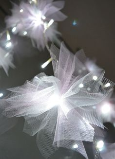 Make your own Fairy Lights for a wedding reception, holiday decoration.: