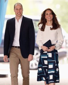Pin for Later: Prince William and Kate Middleton's Year in Pictures  The couple attended the launch of Heads Together Campaign in May.