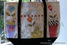 Toadally Awesome Tote Pattern