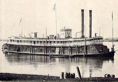 tinclad river boat civil war