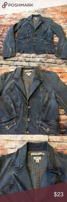 Tommy Hilfiger Womens Jeans Jacket Blazer Very Good Condition Tommy Hilfiger Jackets & Coats Blazers