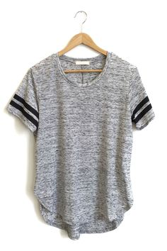 Grey Track Tee from ROOLEE