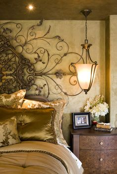 Bedding......Mediterranean Home Bed Linens Design, Pictures, Remodel, Decor and Ideas - page 3