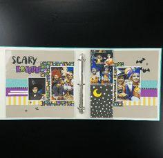 Halloween scrapbooking made easy! #ctmh #closetomyheart #halloweenscrapbooking…