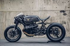"rhubarbes: "" Bavarian Fistfighter / BMW R nineT by Rough Crafts via derestricted. More bikes here. """