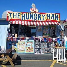 The Hungry Man, Jersey - this is where the inspiration for our Marshmallow Mountain Hot Chocolate Explosions came from!