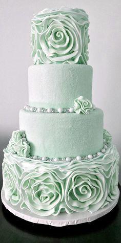 Beautiful Mint Cake