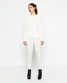 Image 2 of BAGGY JOGGING TROUSERS from Zara