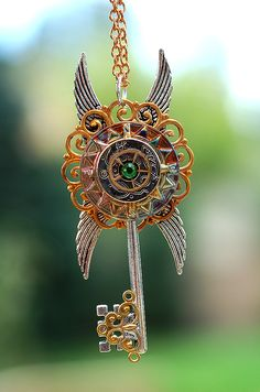 Ancient Sun Calendar Pendant by *KeypersCove on deviantART       Lost City inspiration???