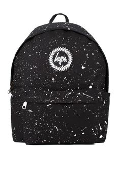 **Black and White Speckle Backpack by Hype - New In- Topshop Europe