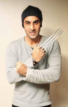X Men effect.. Dangerously yours, Ranbir Kapoor To follow Ranbir Kapoor download FREE App of Follo, just give a miss-call on 07042126464 #RanbirKapoor #Ranbir #Kapoor #Rockstar #Xmen #BollywoodCelebs #celebs #Movies #Gossip