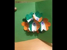 National Flag of India 3D Card - Independence Day Cards - YouTube