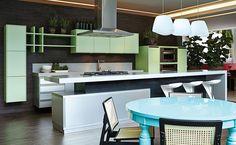 Cadeiras de palhinha e mesa de laca http://www.florense.com.br