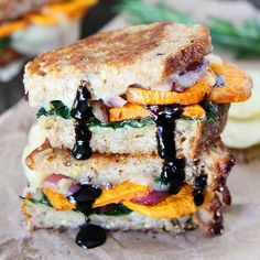 5 Gorgeous Grilled Cheese Sandwiches That Will Make You Cry Real Tears Of Joy http://www.prevention.com/eatclean/5-delicious-grilled-cheese-sandwishes