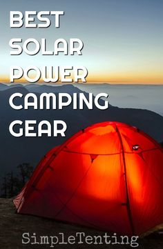 Camping Gear is important, having solar power camping gear is even more importan. - Camping Gear is important, having solar power camping gear is even more important. You get to bring - Camping Gadgets, Diy Camping, Camping Stove, Camping World, Family Camping, Tent Camping, Outdoor Camping, Camping Mattress, Camping Hacks