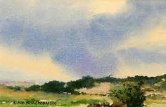 Resultado de imagen para imágenes de pinturas de cielos a la acuarela