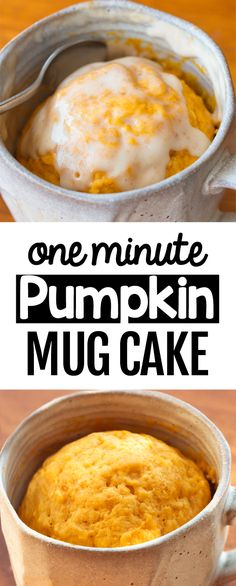 Protein Mug Cakes, Mug Cake Healthy, Keto Mug Cake, Healthy Pumpkin, Vegan Pumpkin, Mug Recipes, Pumpkin Recipes, Fall Recipes, Cooking Recipes