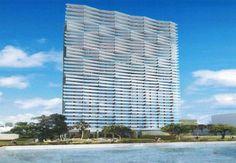 Lançamento de luxo em Miami projetado para ter 40 andares, 300 unidades no total.