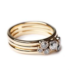 Diamond posy ring - Bespoke Jewellery