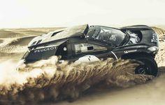 #Peugeot2008DKR #Conceptcar #Competition #Dakar