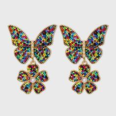 Bird Gift Peacock Jewellery -Bird Earrings Peacock Feather Earrings Bird Lovers Earrings Peacock Earrings Green and Pink Earrings