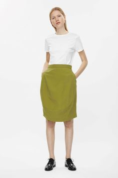 COS | Skirt with curved seams