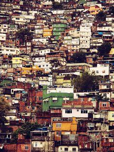 travelingcolors:  Rocinha, Rio de Janeiro | Brazil (by David...