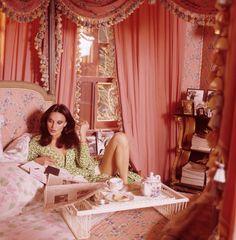 """vintagefashionandbeauty: """"Diane von Furstenberg in Vogue, July 1976. (x) """""""