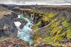 Que voir en Islande - Sigoldugljufur