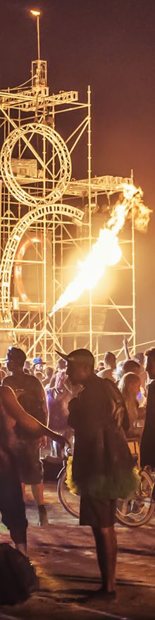 Aphex Camp - Burning Man 2014 - Photography by Cliff Baise