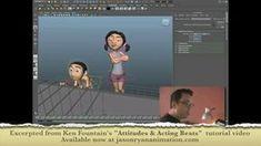 """Attitudes & Acting Beats"" Sample Clip (10 min) by Ken Fountain. Topic - Posing in Proper Mechanics."