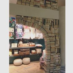 book archway at anthropologie