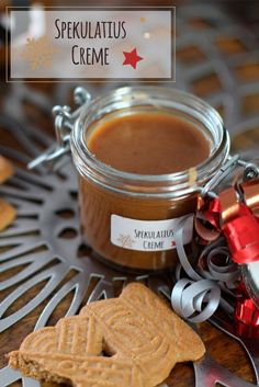 Spekulatius Creme Aufstrich Rezept Selber machen DIY Geschenk - My list of the most healthy food recipes Diy Presents, Diy Gifts, Food Gifts, Comida Diy, Salsa Dulce, Fire Food, Cream Recipes, Spreads, Food And Drink