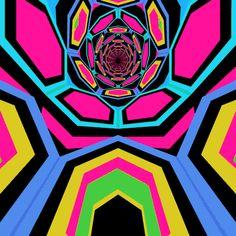 Psychedelic GIFs: Hexeosis