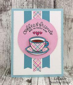 Simon's February Card Kit | Sending Hugs | Bloglovin'
