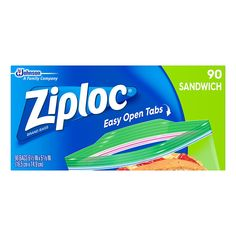 Keep your lunch and snacks fresh with Ziploc sandwich bags 90 per box. These Ziploc bags use Smart Zip Plus to ensure your food is securely enclosed. Lunch Items, Carrot Sticks, Freezer Burn, Mega Pack, Snack Bags, Simple Bags, Food Storage Containers, Branded Bags, Knives